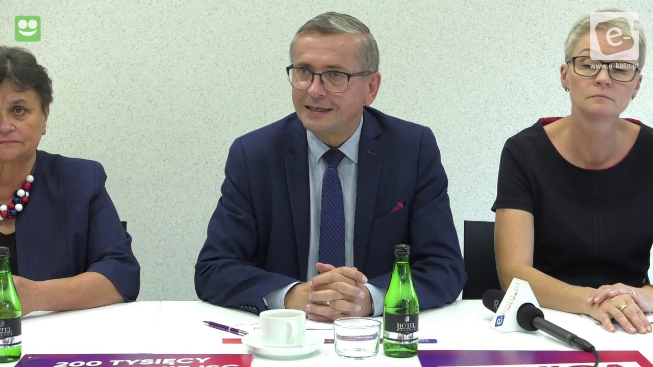 Konferencja prasowa kandydatów Lewicy