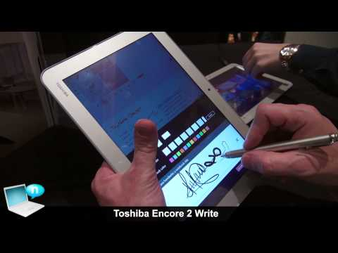Toshiba Encore 2 Write