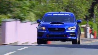 Subaru WRX STI Isle of Man TT Record