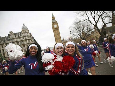 Λονδίνο: Μαζική συμμετοχή στην παρέλαση της Πρωτοχρονιάς
