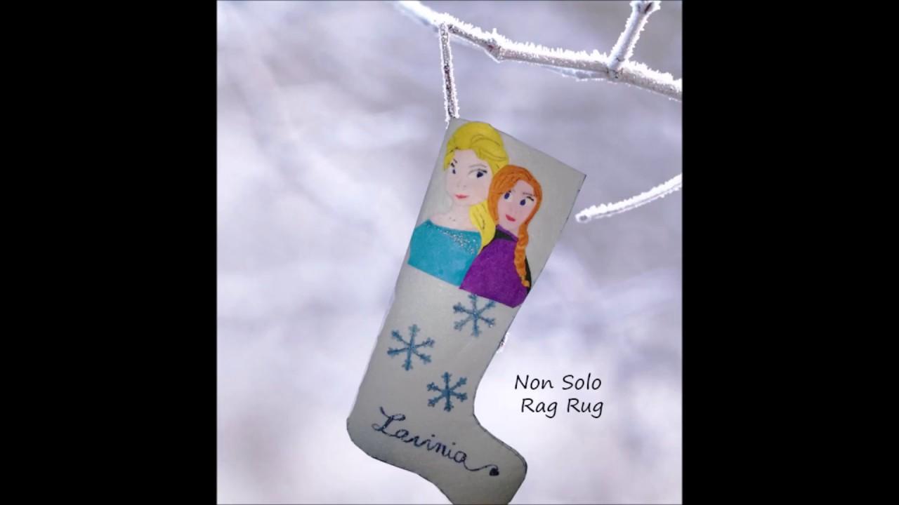 La calza della befana delle principesse di Frozen