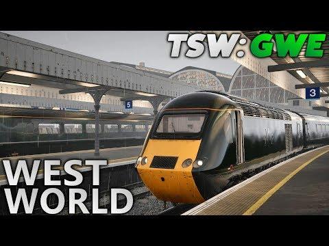 TSW: Great Western Express - West World (HST + Passenger Mode Scenario)