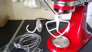 Batidora profesional con base kitchenAid -Artisan