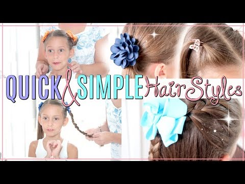Quick & Easy Hairstyles  BACK TO SCHOOL SERIES 2018