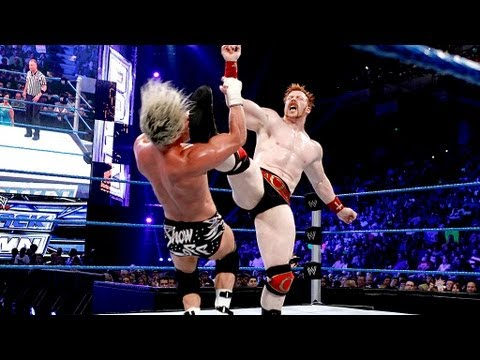 Sheamus Vs. Dolph Ziggler: SmackDown, June 22, 2012