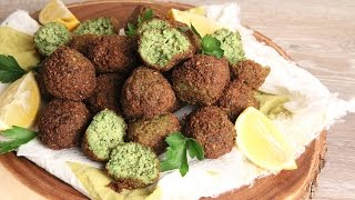 Homemade Falafel Recipe | Episode 1154 by Laura in the Kitchen