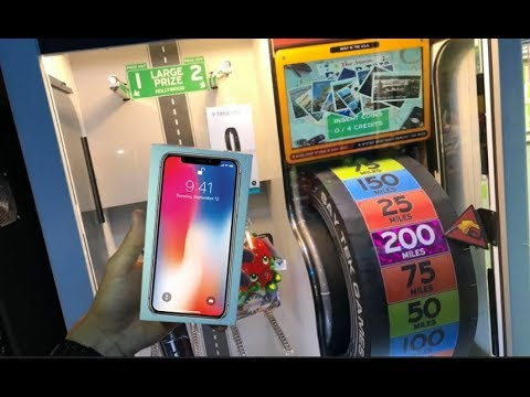 Won Apple iPhone X From Arcade Game!   JOYSTICK