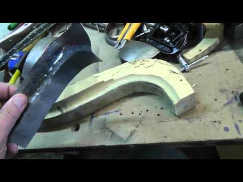 1973 Porsche 914   L Front panel repair Part 8