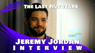 Jeremy Jordan Interview  The Last Five Years (2015)