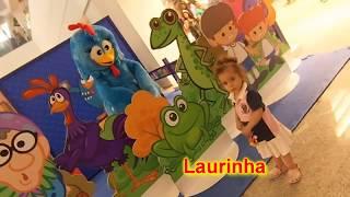 Kinoplex - Minha filha Laura e a Galinha Pintadinha no Shopping Tijuca