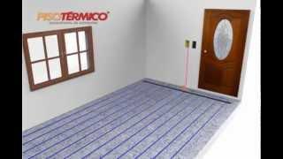 Piso Aquecido - Piso Térmico - Aquecimento de Ambientes - Instalação