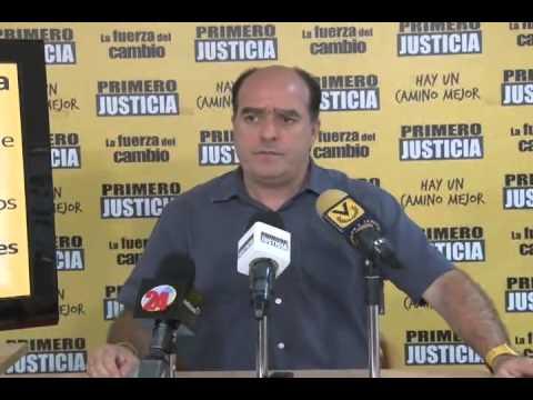 Julio Borges: El problema no son los raspa cupos, sino los enchufados raspa ollas (+Video) (26 - 1 - 2014)