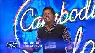 Khmer TV Show - Cambodian Idol, Week 4