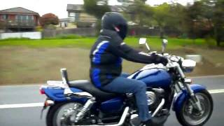 10. Suzuki Marauder VZ1600cc - Cobra pipes - Loud