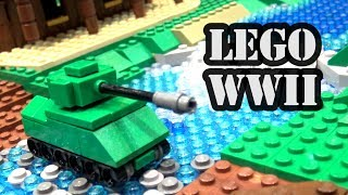 LEGO WWII Micro Tank Battle Game | Brickworld Fort Wayne 2017