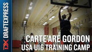 Carte'Are Gordon 2015 USA U16 Training Camp Footage