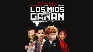 Miky Woodz Feat Juhn Noriel  Pusho   Los Mios Ganan Official Remix