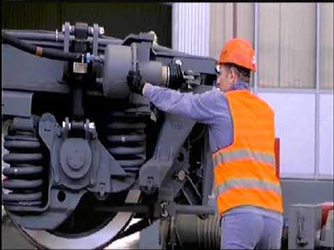 فيديو تصنيع وتوريد 1300 عربة سكة حديد جديدة