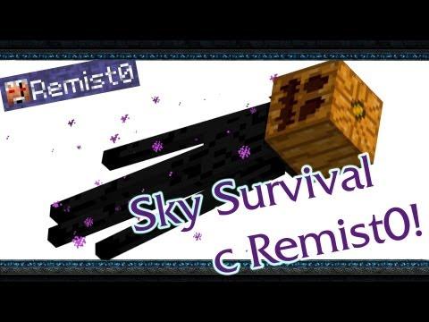 Я КОРОЛЬ ЭНДЕРМЭНОВ! Minecraft. Sky Survival.