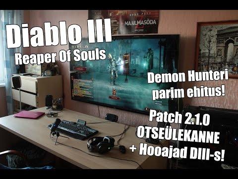 III - http://www.digiplay.ee Nagu mainitud sai siis mängin täna Diablo III uut patchi, mis on teinud siiski mängu taas huvitavaks. Esmakordsed on ka ladderid mängus, D3-s Seasonite nime all....
