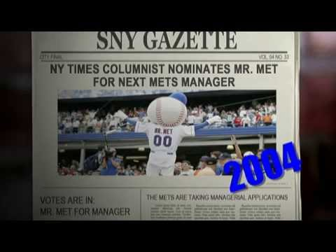 Video: Oh Yeah...2004: Mr. Met for Manager