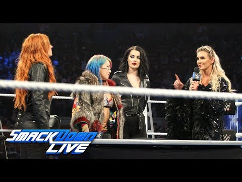 Becky Lynch, Charlotte Flair & Asuka make their TLC Match official: SmackDown LIVE, Dec. 4, 2018_Sport videók