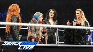 Nonton Becky Lynch  Charlotte Flair   Asuka Make Their Tlc Match Official  Smackdown Live  Dec  4  2018 Film Subtitle Indonesia Streaming Movie Download