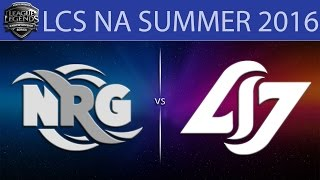 NRG vs CLG, game 1