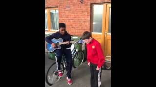 2 Irish Boys Sing We Found Love! Amazing Singers! PLEASE SHARE - YouTube
