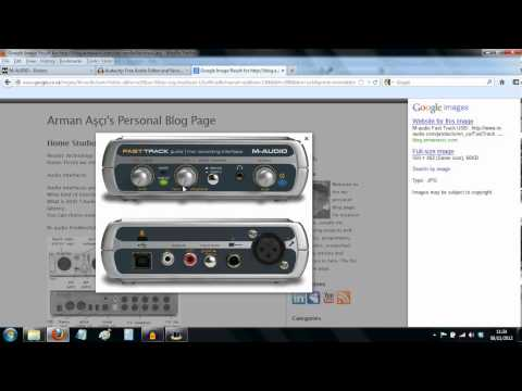 comment installer fast track m audio