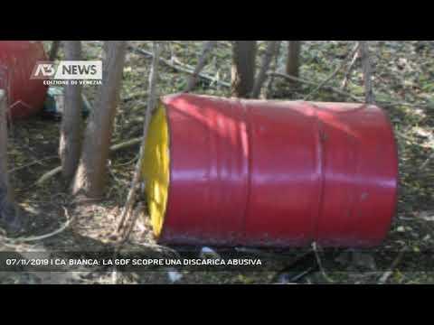 CA' BIANCA: LA GDF SCOPRE UNA DISCARICA ABUSIVA