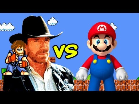 Chuck Norris vs. Super Mario Bros