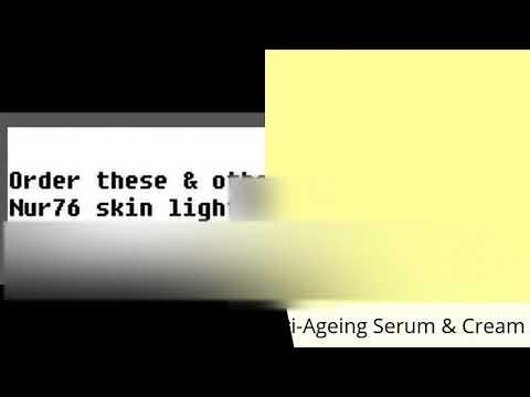 **NUR76  ADVANCED ANTI-AGEING SERUM. Muscle relaxer/Dermal filler/Wrinkle eliminator**