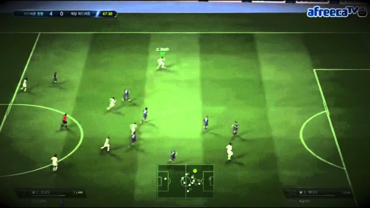 Rùng mình với những pha qua người ghi bàn điệu nghệ trong FIFA Online 3
