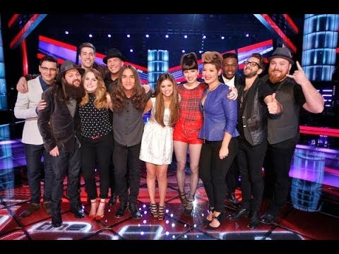 Team Christina - The Voice Top 12 are revealed and each team performs! Learn Selena Gomez