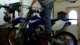 10. 2006 Yamaha yz250f