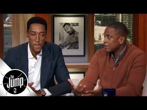 BJ Armstrong and Scottie Pippen reminisce about 1990s Bulls and coach Tex Winter | The Jump