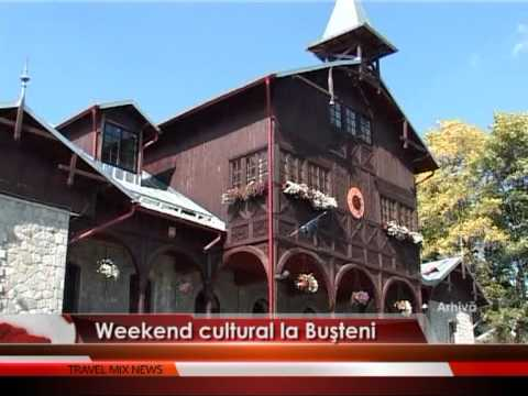Weekend cultural la Buşteni – VIDEO