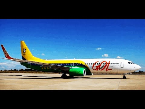Decolagen Visual do 737-800 da (GOL COPA ) em Confins (SBCF) FSX