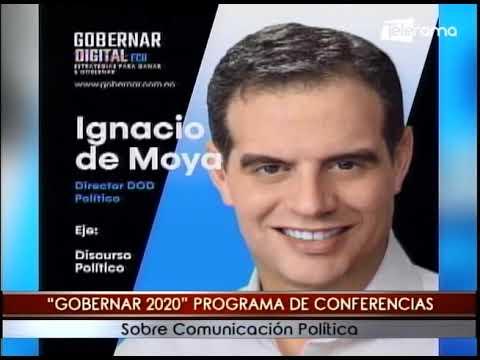 Gobernar 2020 programa de conferencias sobre comunicación política