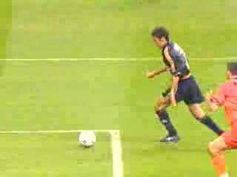 goal di raul finale champions league 2000