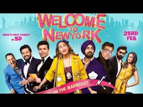 Welcome to New York Official trailer|Riteish Deshmukh|Karan Johar|Sonakshi Sinha