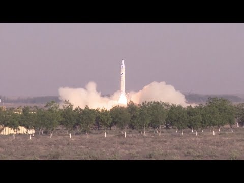 One Space OS-X0 launch - China's first private rocket (重庆两江之星) © SciNews