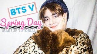 Video BTS TAEHYUNG (V) - SPRING DAY MAKEUP TUTORIAL MP3, 3GP, MP4, WEBM, AVI, FLV Mei 2017