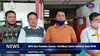 BPD dan Pemdes Soewe Verifikasi Serta Validasi Data KPM (HARIANSIBER TV)