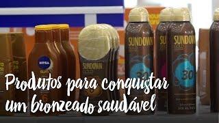 Produtos para conquistar um bronzeado saudável
