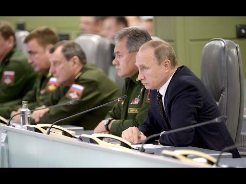 Владимир Путин провел совещание о действиях Вооружённых Сил России в Сирии