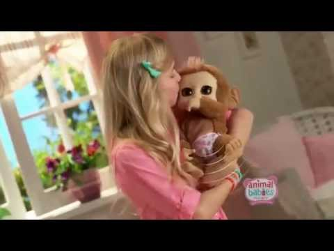 Toy Commercial 2014 - Animal Babies - Just Like Real Babies Ready for you To Adopt & Love