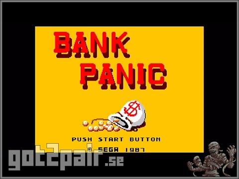 Bank Panic - Master System