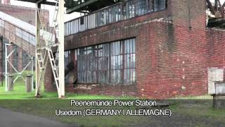 Usedom Germany  City new picture : Peenemünde Power Station, Usedom, GERMANY